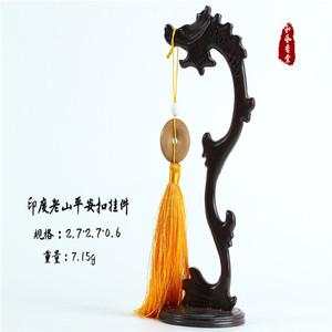 【和风香堂】印度老山檀香平安扣挂件