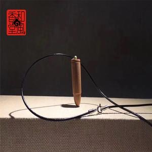 """【和风香堂】老山檀香""""战狼升级版子弹""""挂坠挂件"""