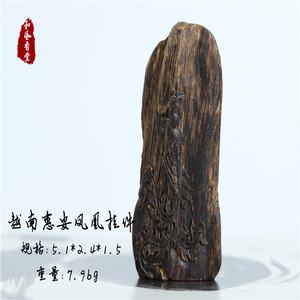 【和风香堂】越南惠安沉香凤凰挂件
