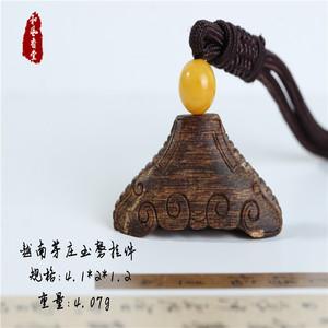 【和风香堂】越南芽庄奇楠玉磬挂件